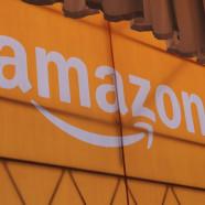 Surprise! Amazon posts a profit, shares jump 18%