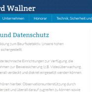 Mag.iur. Wallner – Detective Agency Vienna